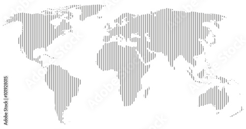 Gray world map vector silhouette buy this stock vector and explore gray world map vector silhouette gumiabroncs Image collections
