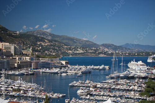 Spoed Foto op Canvas Oceanië view of Monte-Carlo, Monaco