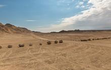 Panorama Of Arava Deser