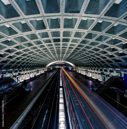 Washington DC Metro Station Wall mural