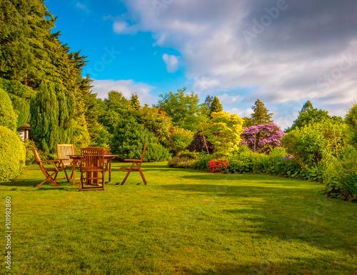obraz dibond Garden