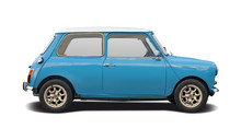 Classic British Mini Car Isola...