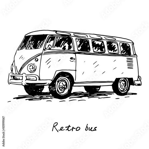Photo  Retro bus