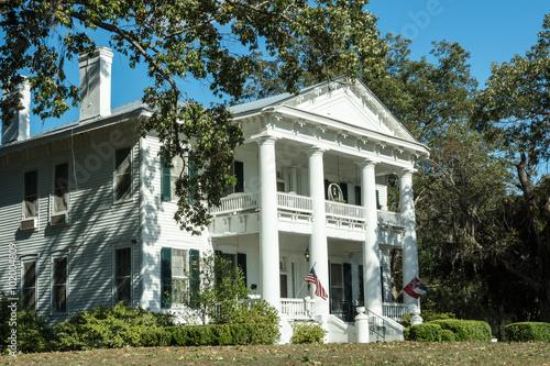 Photo Southern Plantation Mansion