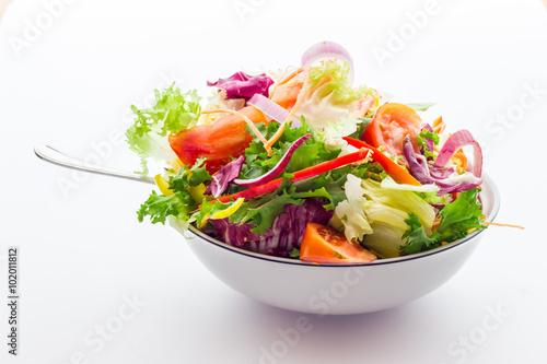 Fotografía  Vegetable salad