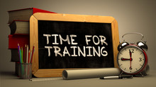 Time For Training - Chalkboard...