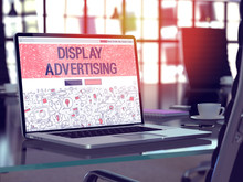 Display Advertising Concept On...