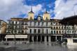 Plaza Mayor square in Segovia, Spain