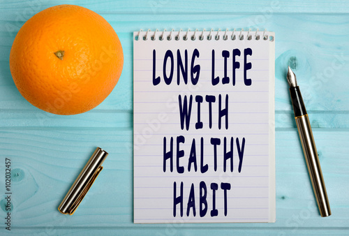 Fotografia  Long life with healthy habit