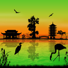 Beautiful Asian Landscape