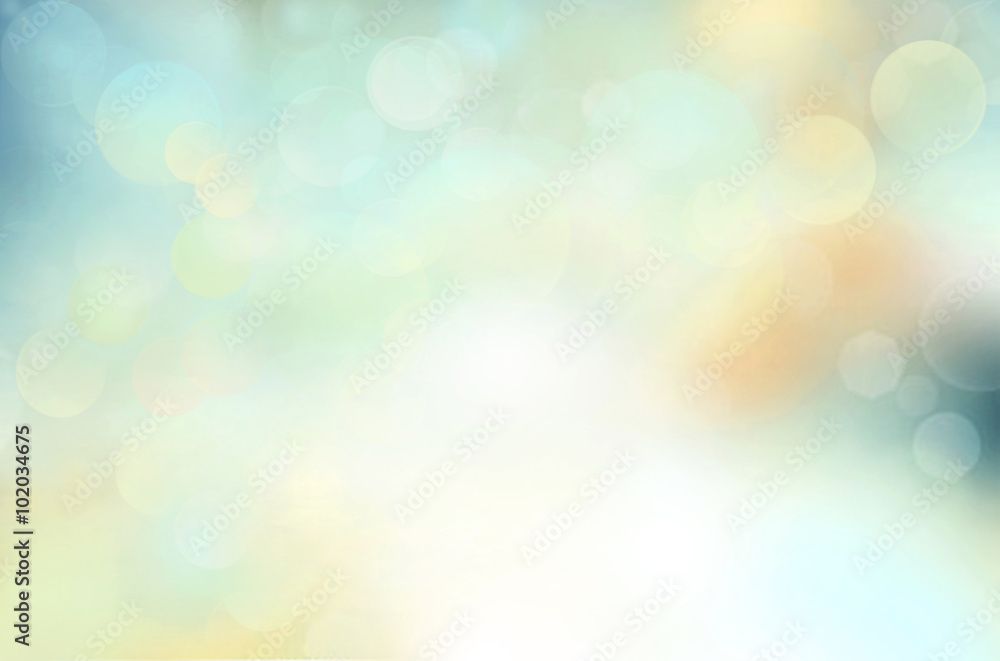 Fototapety, obrazy: Spring background blur,holiday wallpaper.