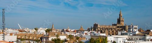 Panorámica de Sevilla Catedral