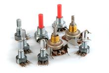 Potentiometer Variable Resistor Or Rheostat.