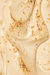 Panel Szklany Podświetlane Słodycze texture gelato artigianale in gelateria