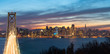 Bay Bridge and San Francisco Celebrate Super Bowl 50