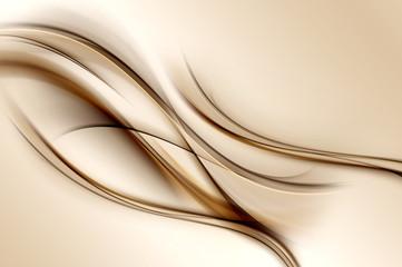 Brown Waves Background