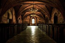 Castle Room ,medieval Interior...