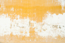 Yellow Grunge Cement Wall, Tex...