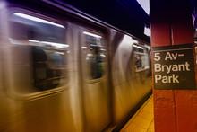 5 Av. - Bryant Park Subway Sig...