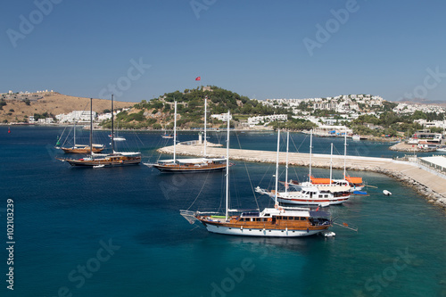 City on the water Bodrum Town