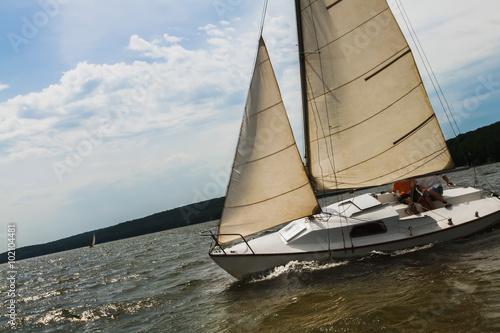 Poster Zeilen Regatta, sailing