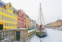Colored Facades Of Nyhavn In C...