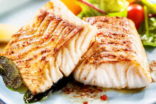 Two Delicious Fillets Of Marinated Pollock