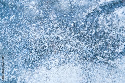 Photo  ice background