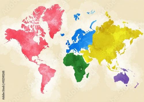 swiat-mapa-narysowane-pociagnieciami-pedzlem-podzial-wedlug-kontynentow-kolorowe