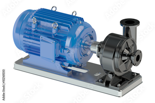Cuadros en Lienzo Electric water pump