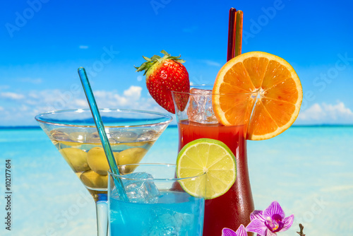 Exotic alcohol drinks - 102177614