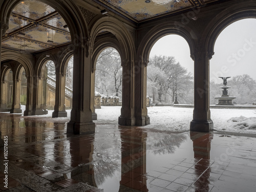 Bethesda Terrace Central Park, New York City - Buy this