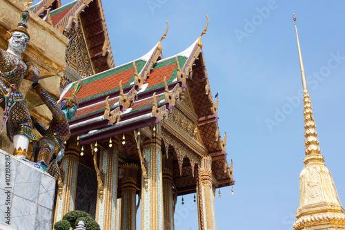 "Photo  The image ""Wat Phra Kaeo,Bangkok,Thailand"