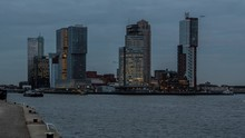 Rotterdam Buildings And Boats ...