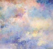 Malerei Himmel Leinwand