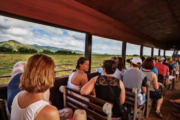Cuba, Trinidad, Tourist Train to Manaca Iznaga
