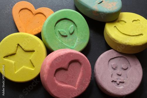 Fotografia  Ecstasy pills