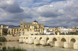 Mosque and Roman Bridge in Cordoba - Spain