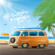 Summer Travel With Bus