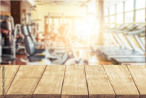 Foto op Plexiglas Fitness Gym.