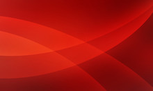 Abstract Red Background Design With Curved Intersecting Lines In Elegant Pattern, Large Circle Overlays