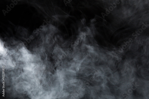 Fotobehang Rook Abstract Smoke and Fog background