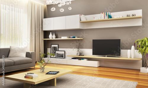 Fotografía  Composition of modern furniture