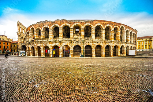 mata magnetyczna Arena di Verona, Italy