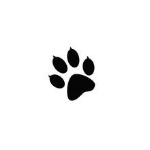 The Imprint Of Black Animal Pa...