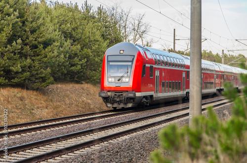 Fotografie, Obraz  Eisenbahn
