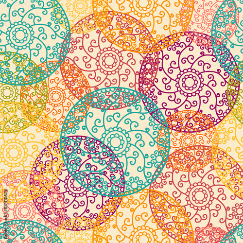 Fotografía  Indian Pattern - Detailed and easily editable