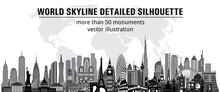 World Monuments Detailed Skyli...