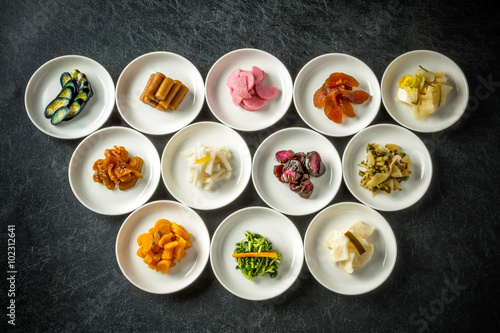 Papiers peints Kyoto 日本 京都の漬物 pickles Kyoto, Japan