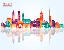 Zurich Switzerland  Detailed S...